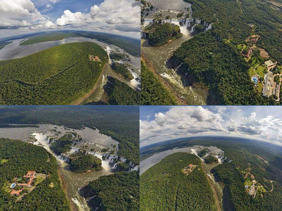 Río Iguazú inferiorRío Iguazú superior