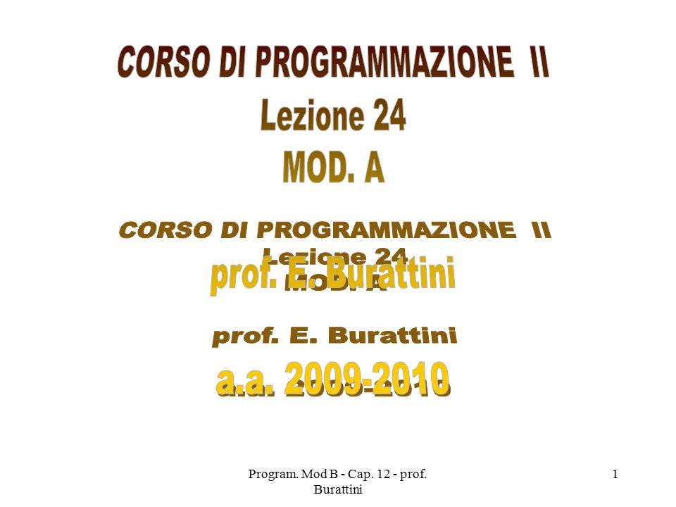 Program.Mod B - Cap. 12 - prof.