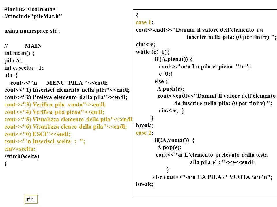 Program.Mod B - Cap. 12 - prof. Burattini 20 Sia data una lista circolare L (v.