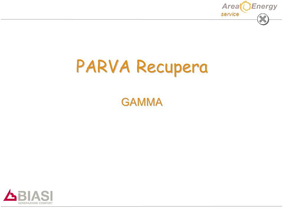 service PARVA Recupera GAMMA