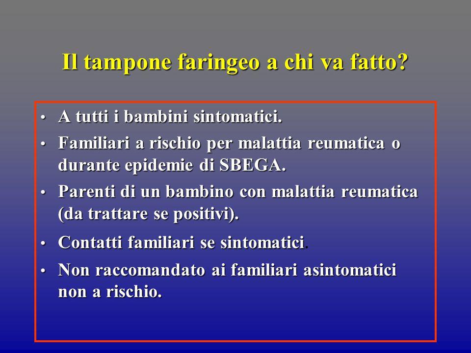 Titolo antistreptolisinico o TAS Dosaggio anticorpi verso la streptolisina O.
