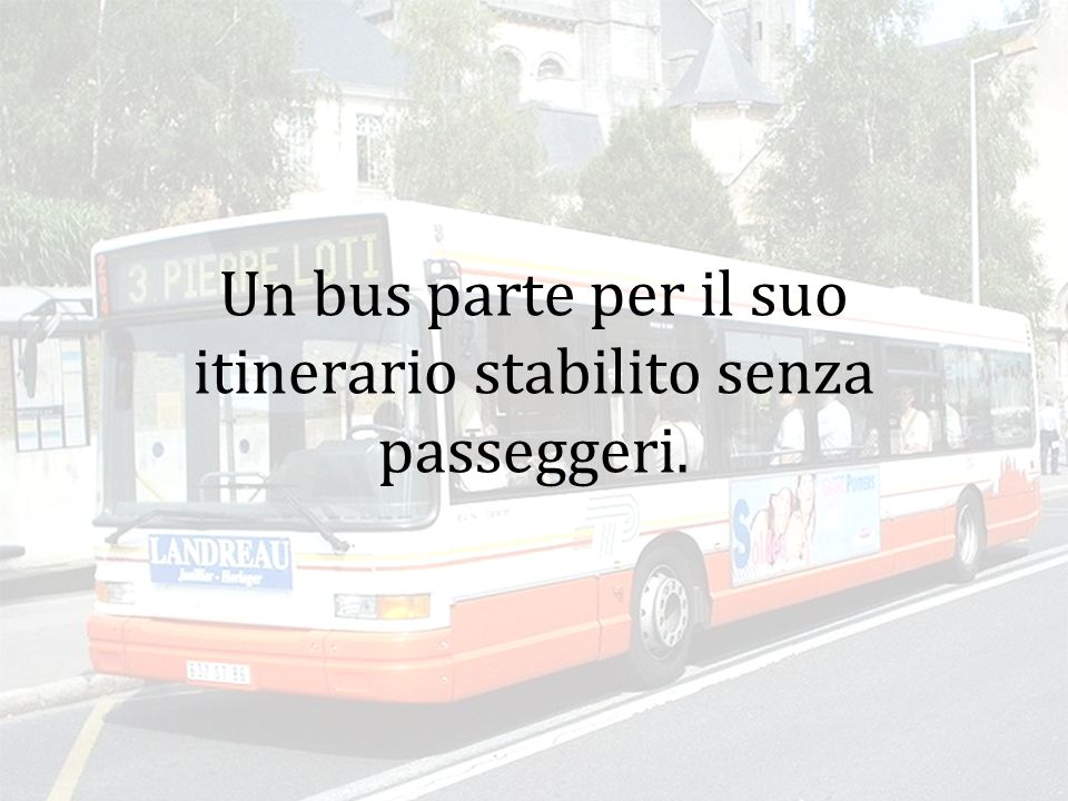 Il bus riparte...