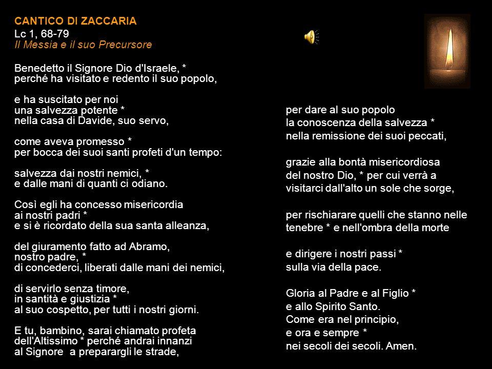 Lettura Breve Rm 12, 1-2 Vi esorto, fratelli, per la misericordia di Dio, ad offrire i vostri corpi come sacrificio vivente, santo e gradito a Dio; è