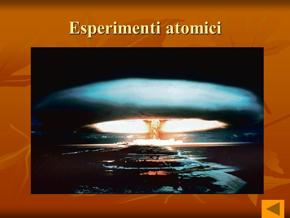 Esperimenti atomici