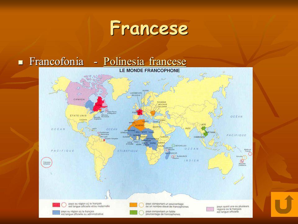 Francese Francofonia - PP oooo llll iiii nnnn eeee ssss iiii aaaa f f f f rrrr aaaa nnnn cccc eeee ssss eeee