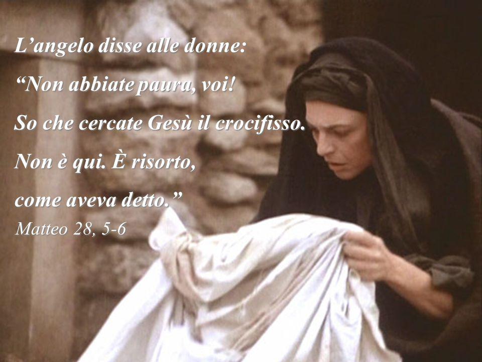 PRIMO MISTERO: Gesù risorge dalla morte