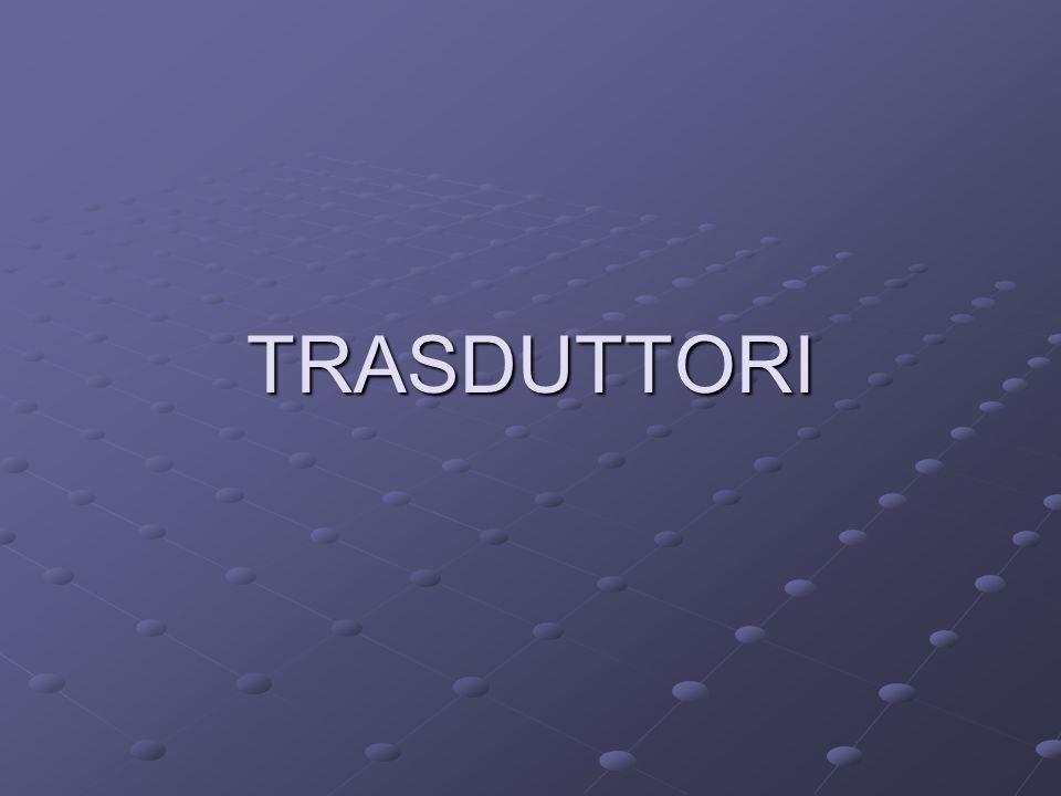 TRASDUTTORI