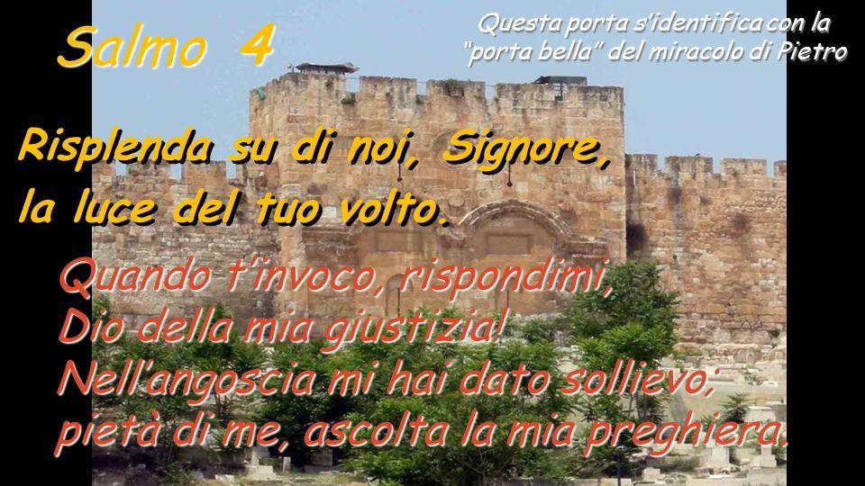Il salmo 4 fa parte del primo gruppo del salterio davidico, dove MOLTI attaccano il salmista (3-9).