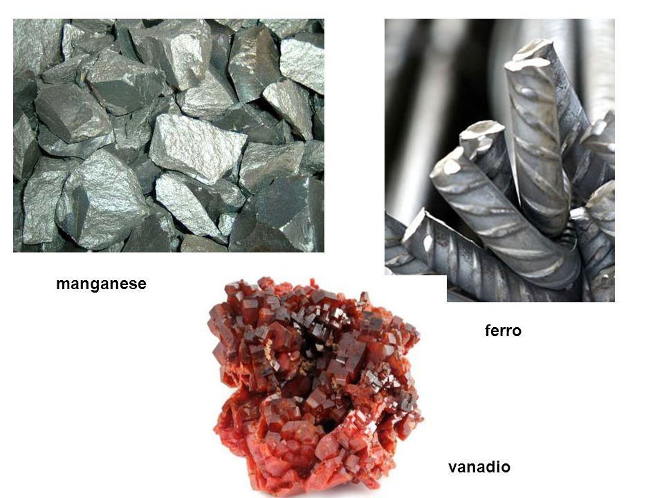 ferro manganese vanadio