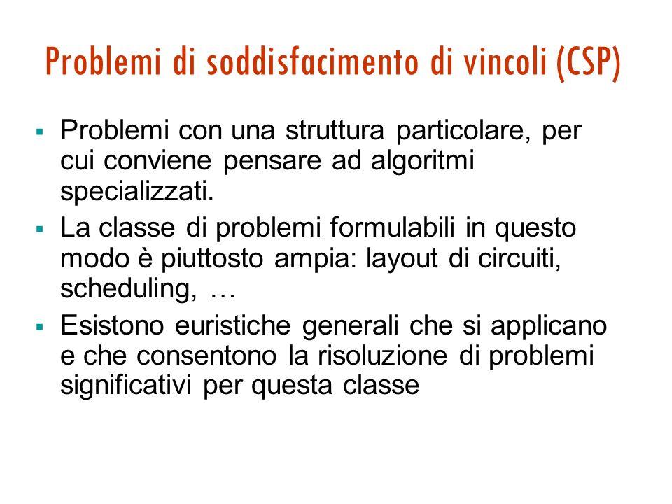 Problemi di soddisfacimento di vincoli Maria Simi a.a. 2008/2009