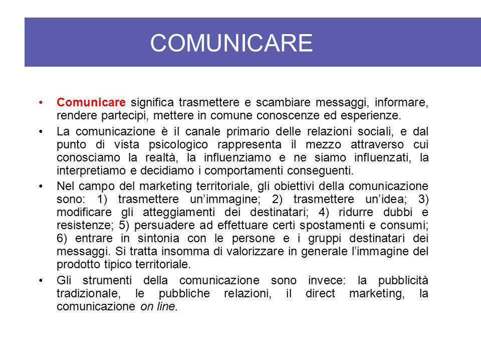 Comunicare significa trasmettere e scambiare messaggi, informare, rendere partecipi, mettere in comune conoscenze ed esperienze. La comunicazione è il