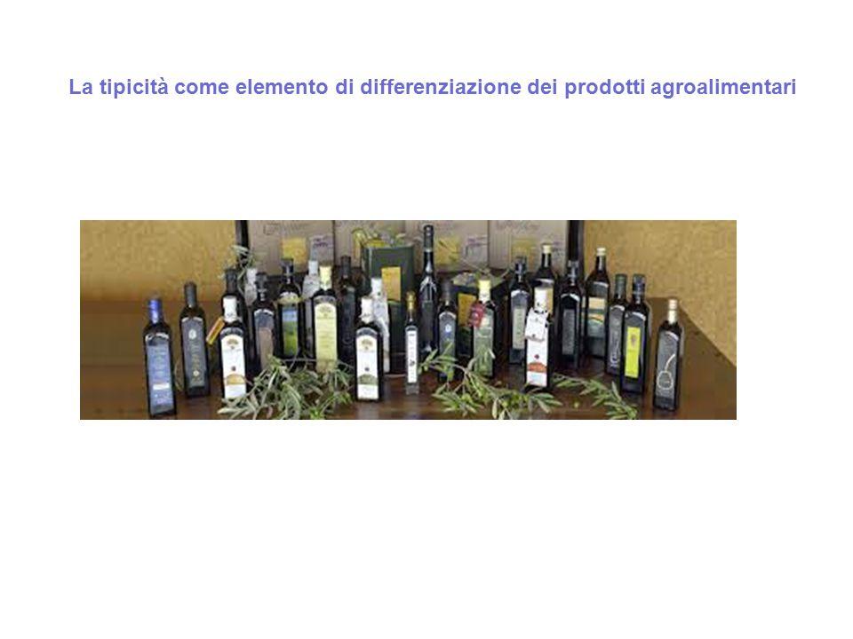 La tipicità come elemento di differenziazione dei prodotti agroalimentari