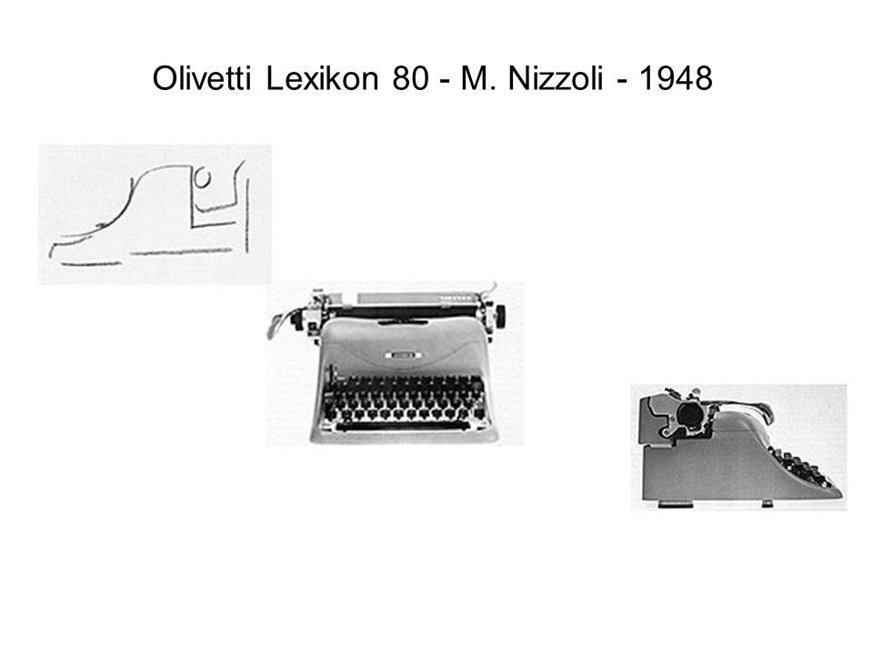 Olivetti Lexikon 80 - M. Nizzoli - 1948