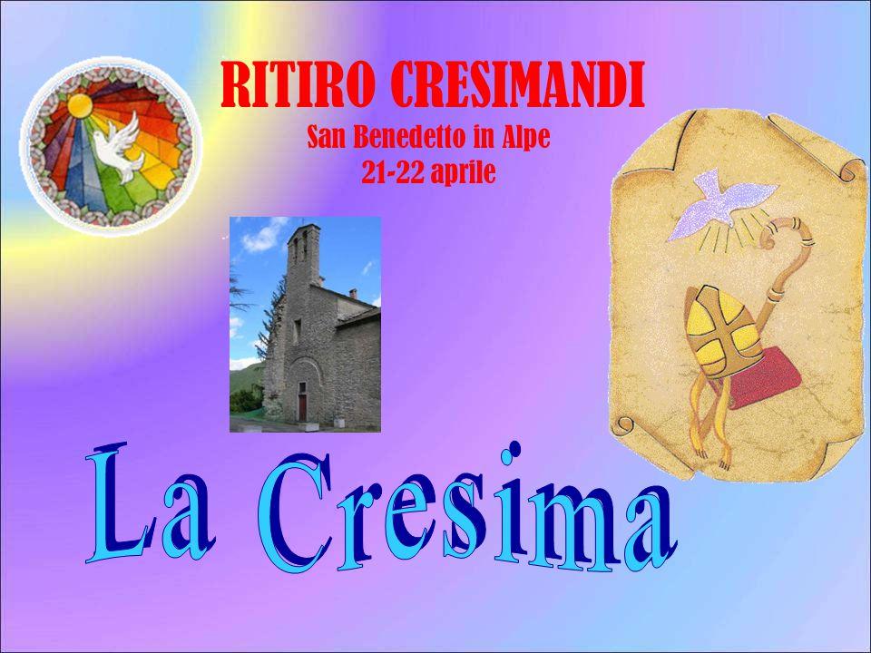 RITIRO CRESIMANDI San Benedetto in Alpe 21-22 aprile