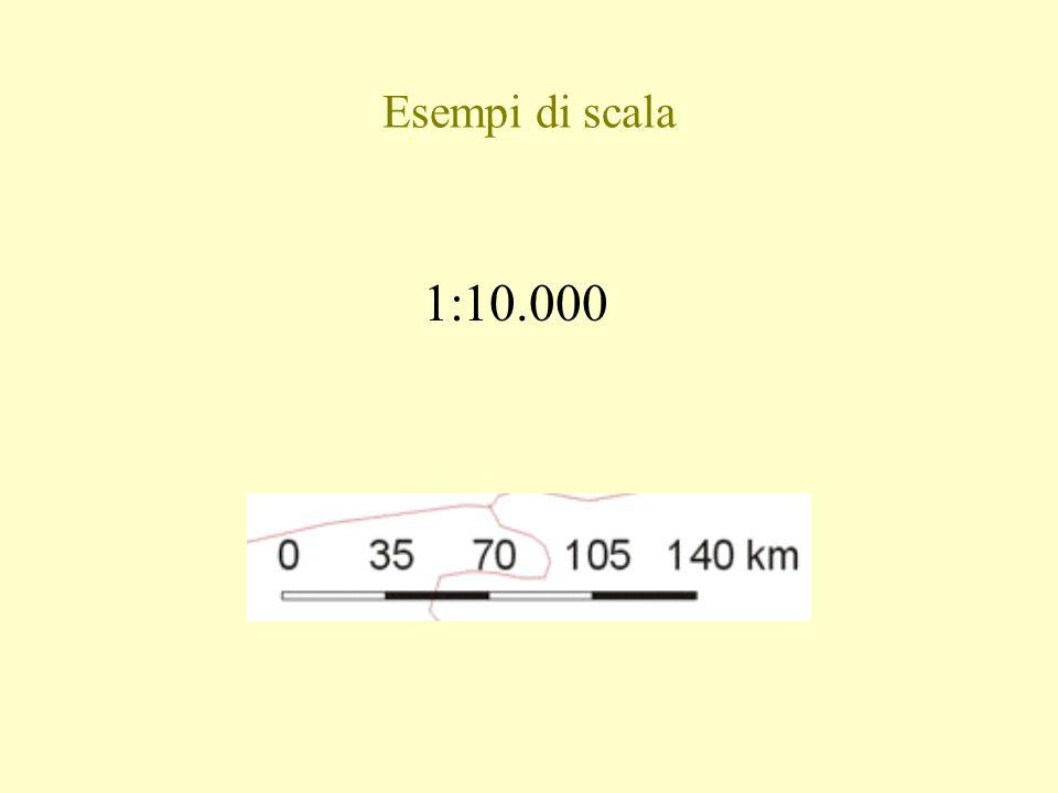 Esempi di scala 1:10.000