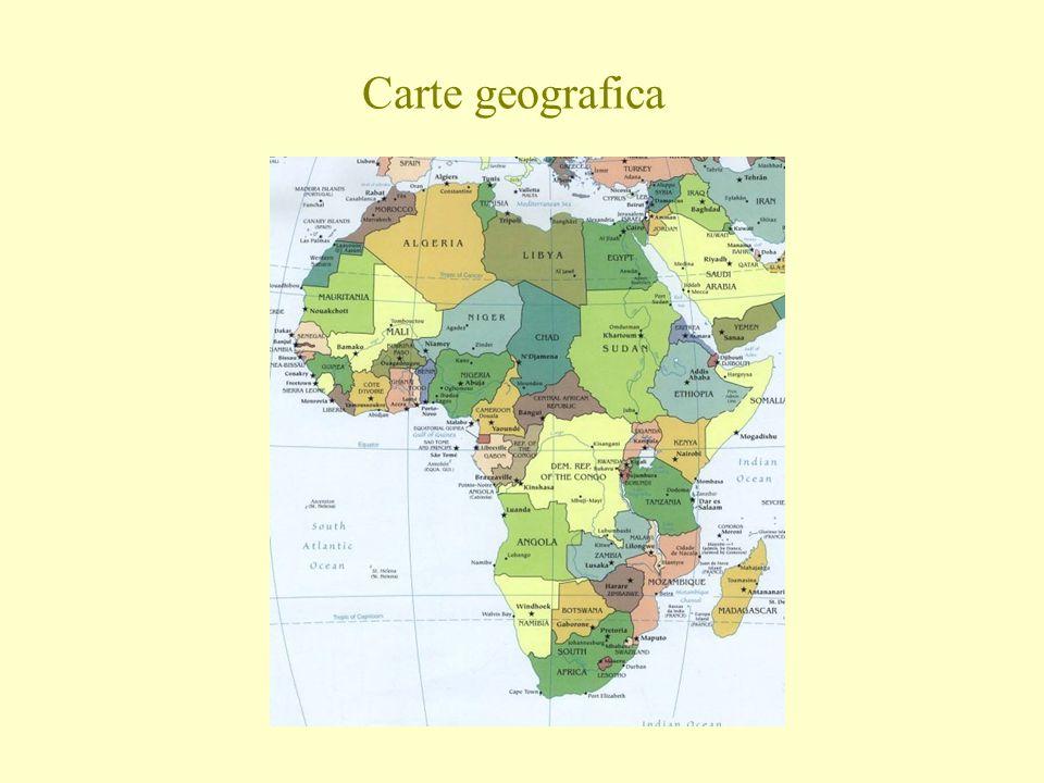 Carte geografica