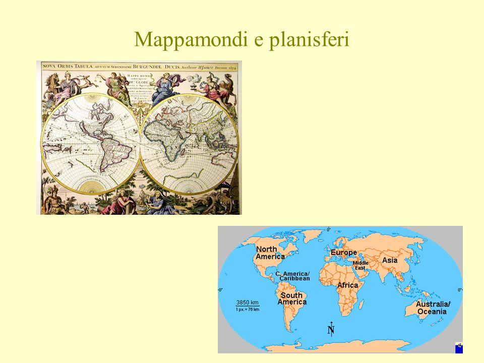 Mappamondi e planisferi