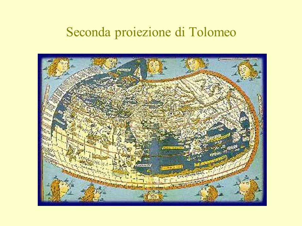 Seconda proiezione di Tolomeo