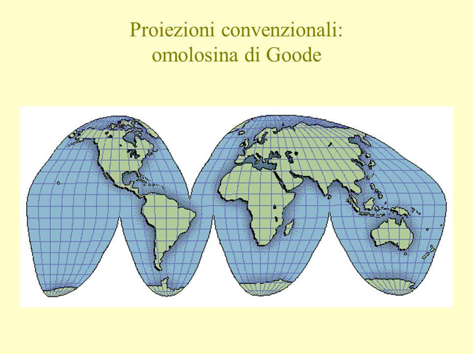 Proiezioni convenzionali: omolosina di Goode