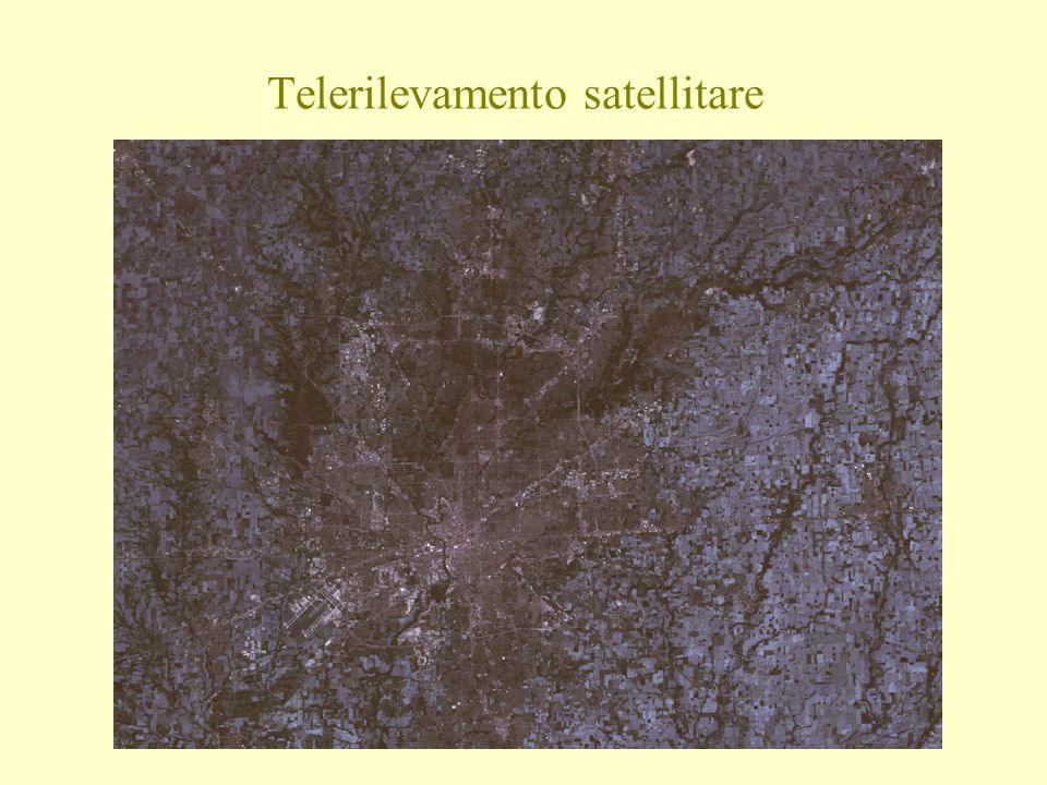 Telerilevamento satellitare