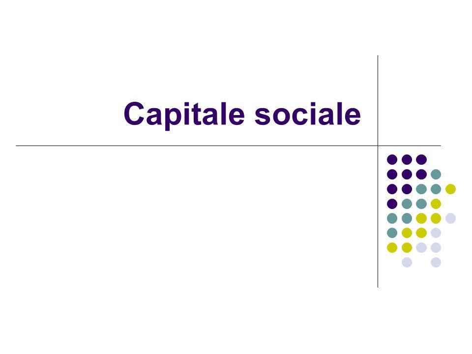 Sviluppo economico Salute/benessere Ricerca di abitazione/ lavoro Associazio- nismo Civicness