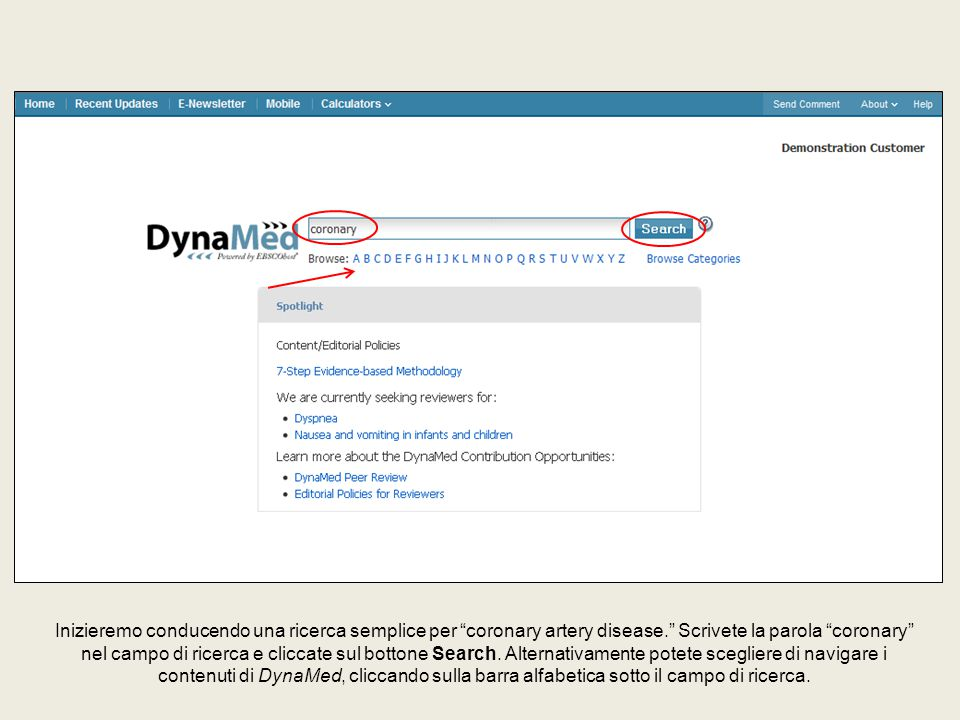 DynaMed include più di 1.000 topici riguardanti farmaci.