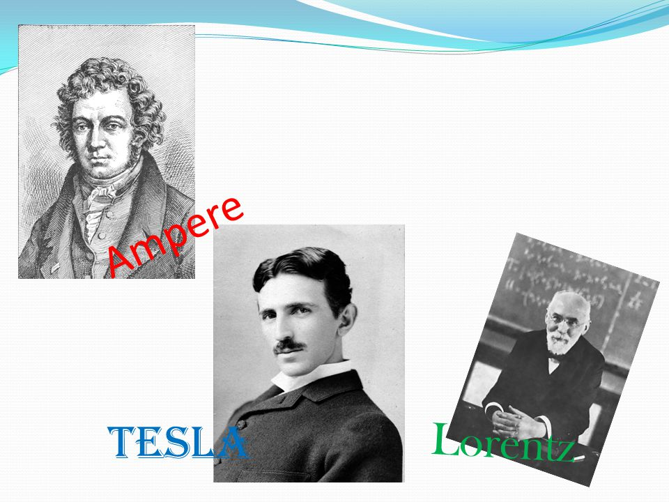Ampere Lorentz Tesla