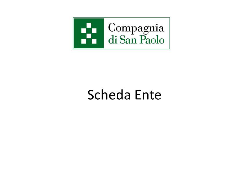 Scheda Ente
