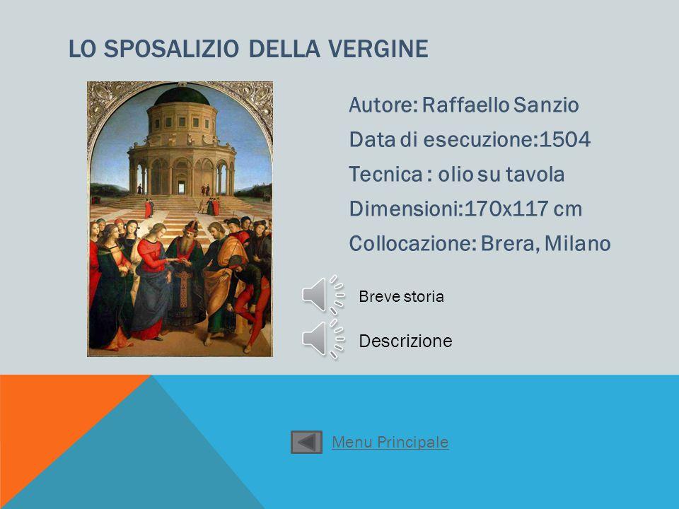 Andrea Mantegna Data di esecuzione: 1480 Tecnica: tempera su tela Dimensioni: 68x81 Collocazione: Brera Milano CRISTO MORTO Descrizione Menu Principale
