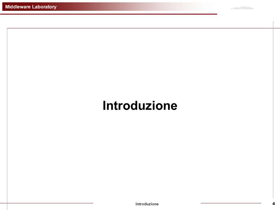 Middleware Laboratory Introduzione4