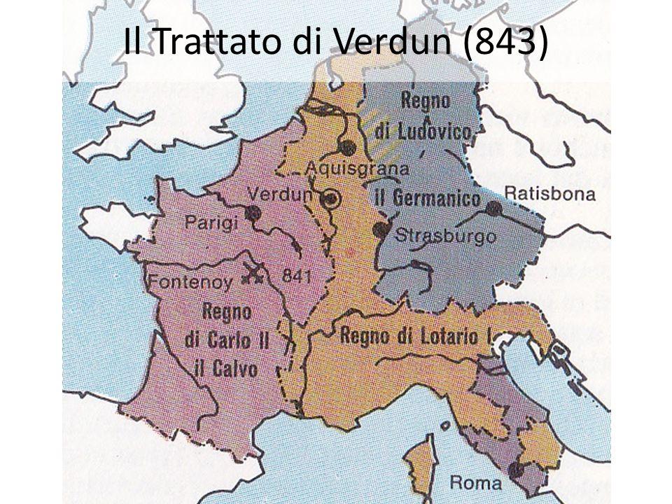 Il Trattato di Verdun (843)