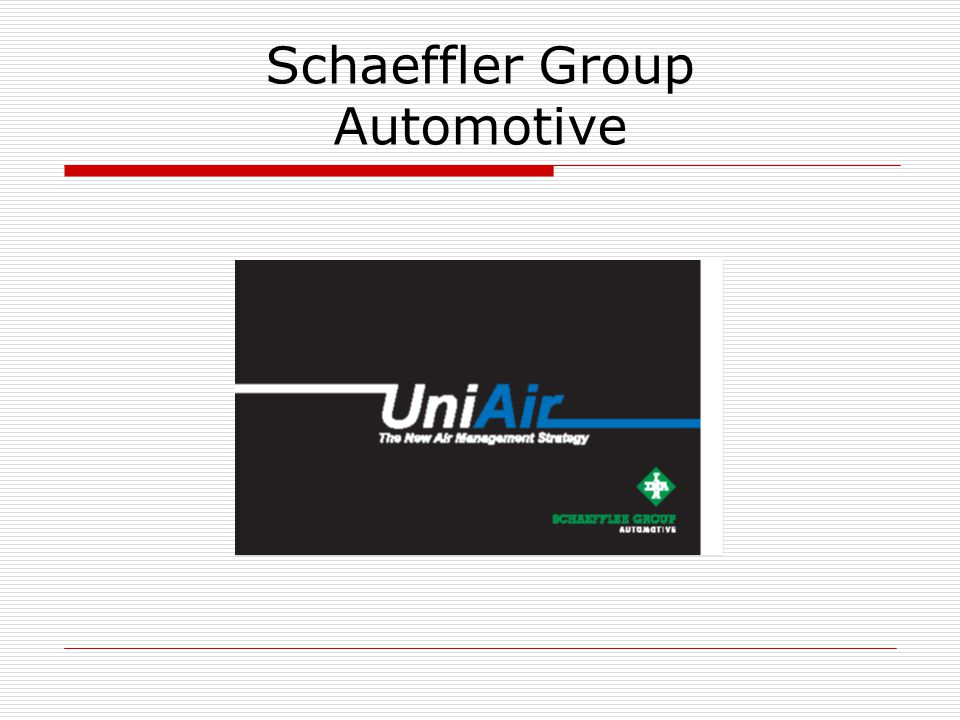 Schaeffler Group Automotive