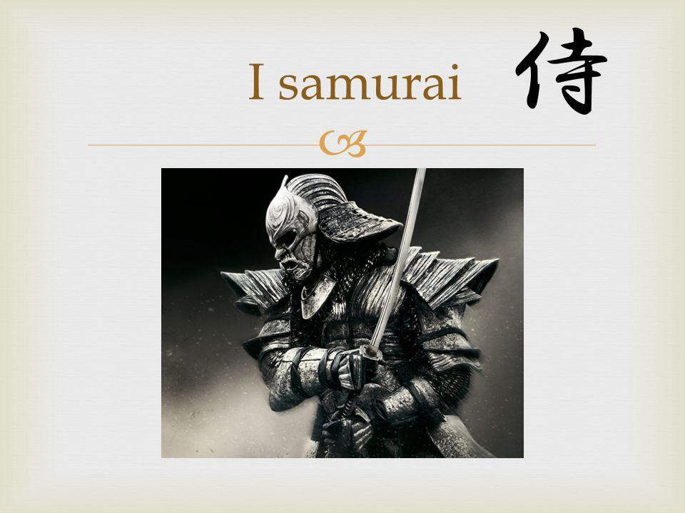 Il samurai ( 侍 ) era un militare del Giappone feudale, appartenente ad una delle due caste aristocratiche giapponesi, quella dei guerrieri La parola samurai ha avuto origine nel periodo giapponese Heian, quando era pronunciata saburai, e significava servo o accompagnatore .