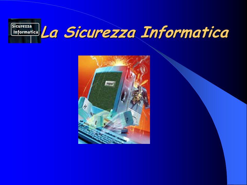 Protezione dei Dati Parlando di disponibilità dei dati viene spontaneo pensare alla possibilità che si guastino i dischi fissi o la rete cessi di funzionare o che si verifichi un blackout, ma è anche importante considerare che gli eventuali meccanismi di protezione e di controllo degli accessi funzionino regolarmente e che i relativi database, che sono necessari per il funzionamento, siano a loro volta accessibili e contengano dati validi.