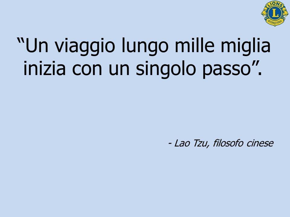 """""""Un viaggio lungo mille miglia inizia con un singolo passo"""". - Lao Tzu, filosofo cinese"""
