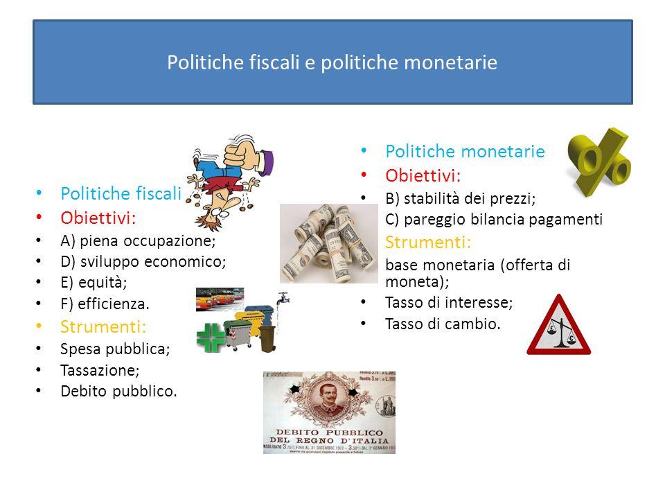 Le politiche fiscali e monetarie si influenzano a vicenda e occorre quindi che siano coordinate.