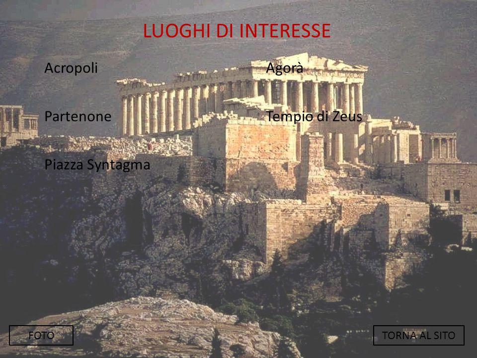 ACROPOLI BACK L' Acropoli è il luogo più alto della città di Atene e in passato era considerato il luogo dove stava il tempio, nel caso di Atene si trova il Partenone, tempio costruito dall' abile architetto Fidia in onore della dea Atena.