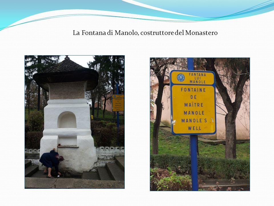 La Fontana di Manolo, costruttore del Monastero