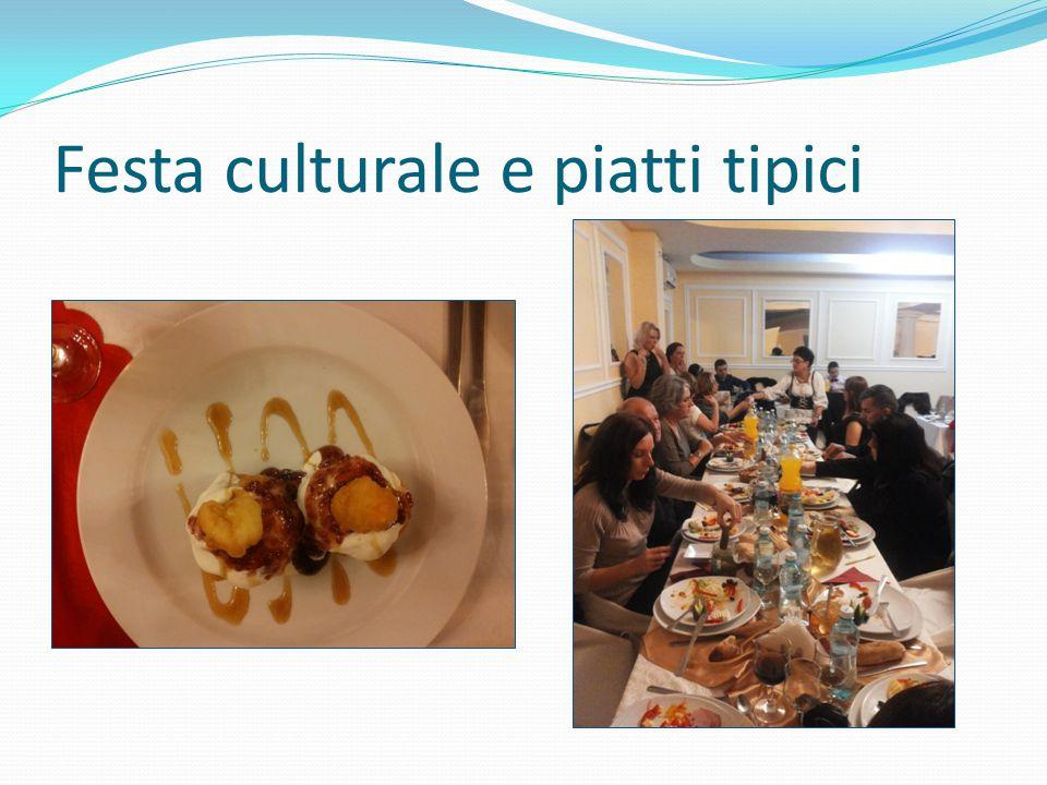 Festa culturale e piatti tipici
