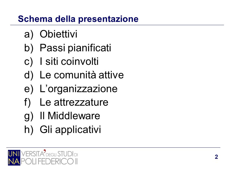 3 a) Obiettivi del Progetto S.Co.P.E.