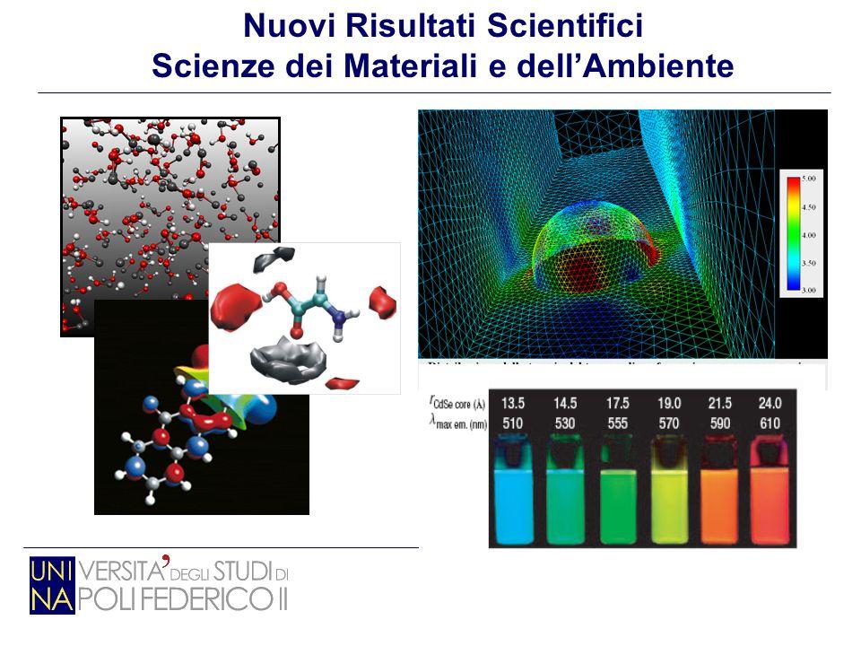 Nuovi Risultati Scientifici Scienze dei Materiali e dell'Ambiente
