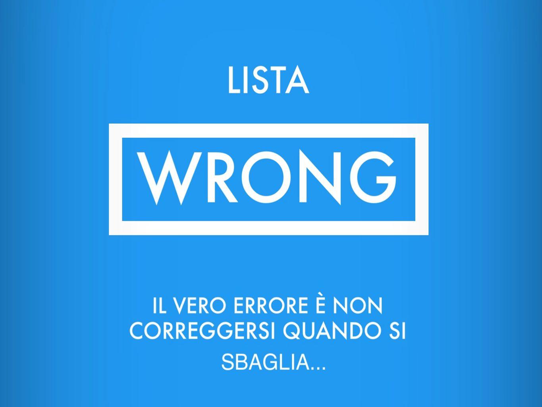 LISTA WRONG