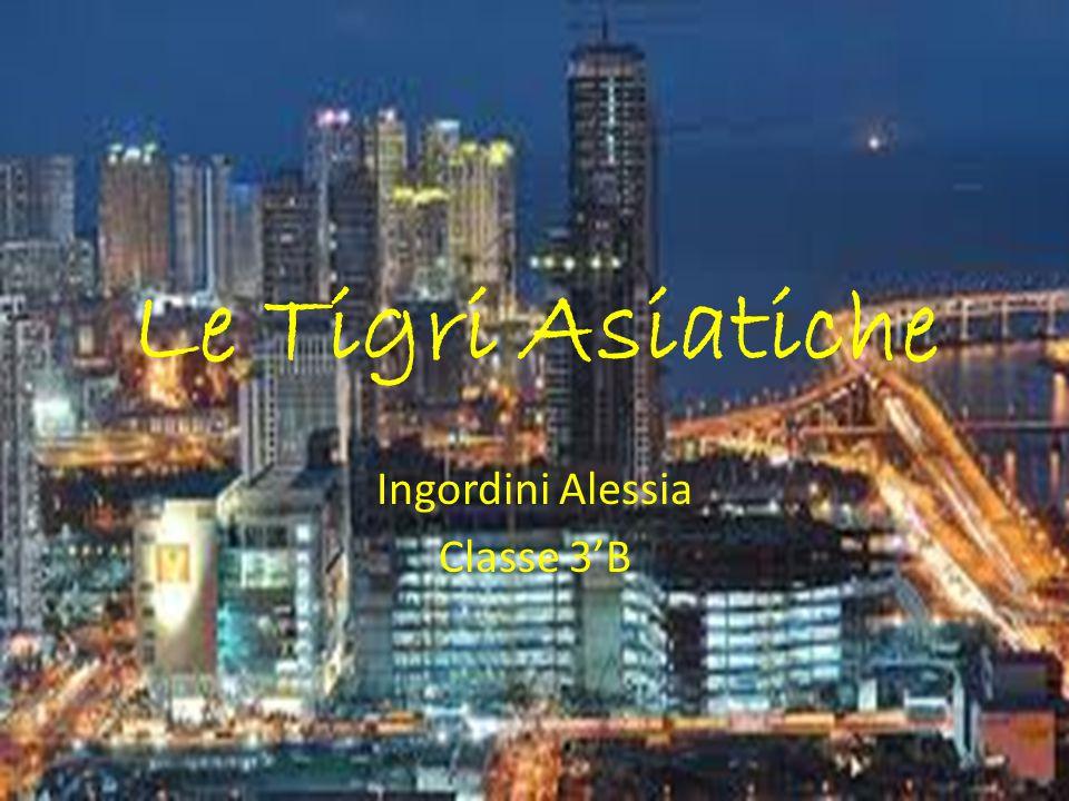 Le Tigri Asiatiche Ingordini Alessia Classe 3'B