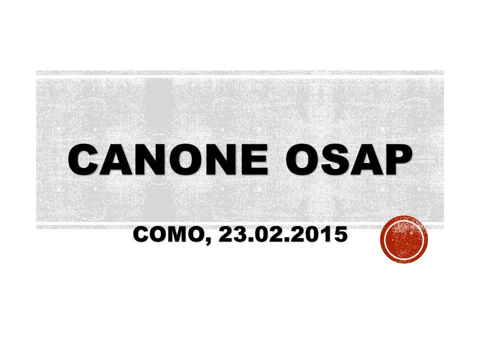 CANONE OSAP COMO, 23.02.2015