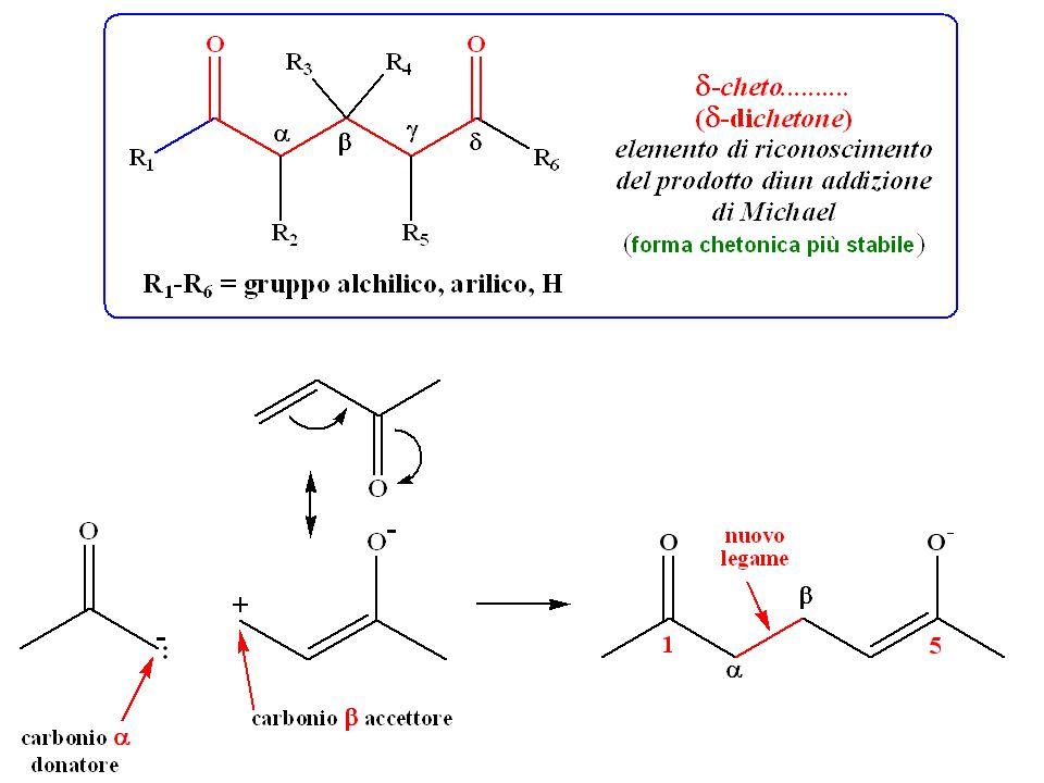 Sintesi acetoacetica Sintesi malonica Un chetone monosostituito Un chetone disostituito Un acido acetico monosostituito Un acido acetico disostituito