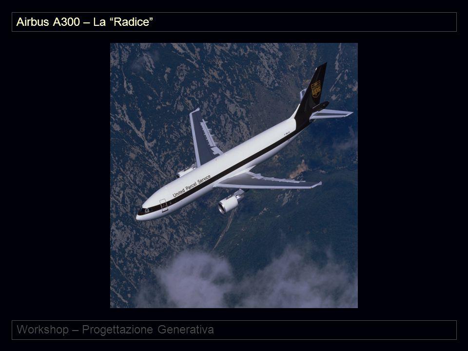 """Workshop – Progettazione Generativa Airbus A300 – La """"Radice"""""""