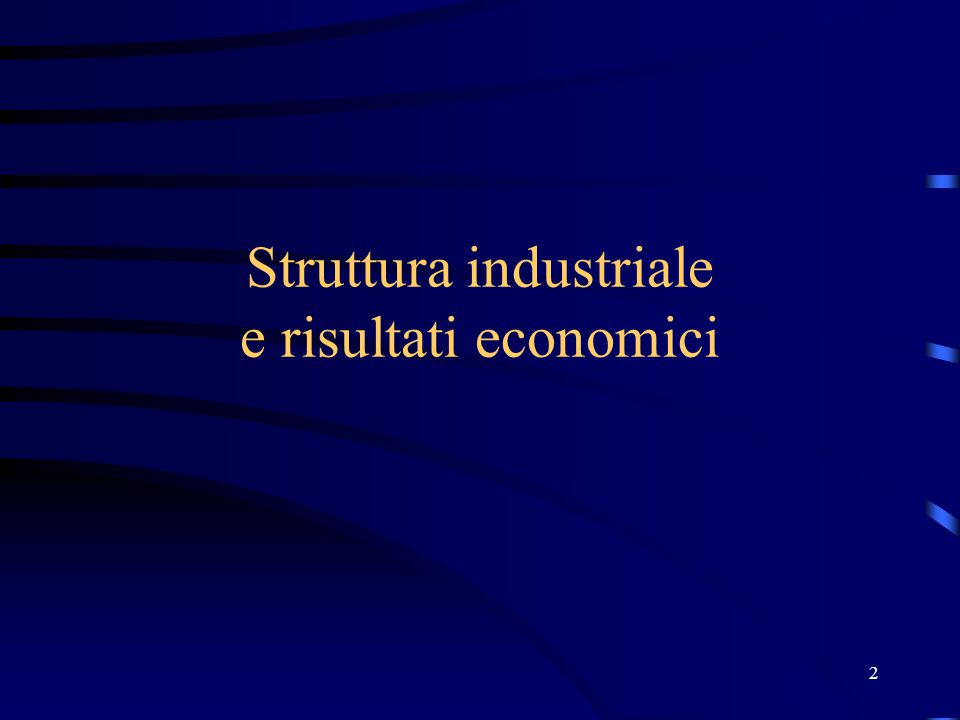 23 Struttura, Condotte, Performance Condizioni di Base Struttura Comportamento Risultati Economici PolitichePubbliche(Istituzioni)