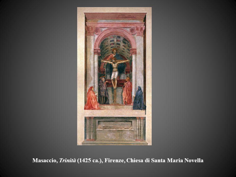Masaccio, Trinità (1425 ca.), Firenze, Chiesa di Santa Maria Novella