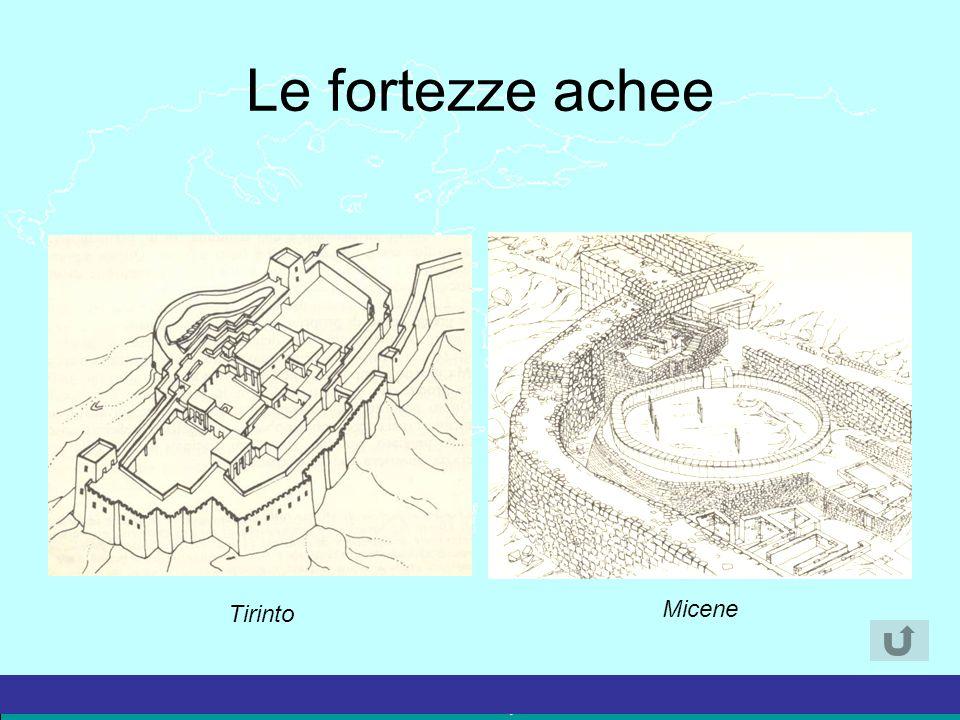 La Grecia Antica – a cura del prof. Marco Migliardi Le fortezze achee Tirinto Micene