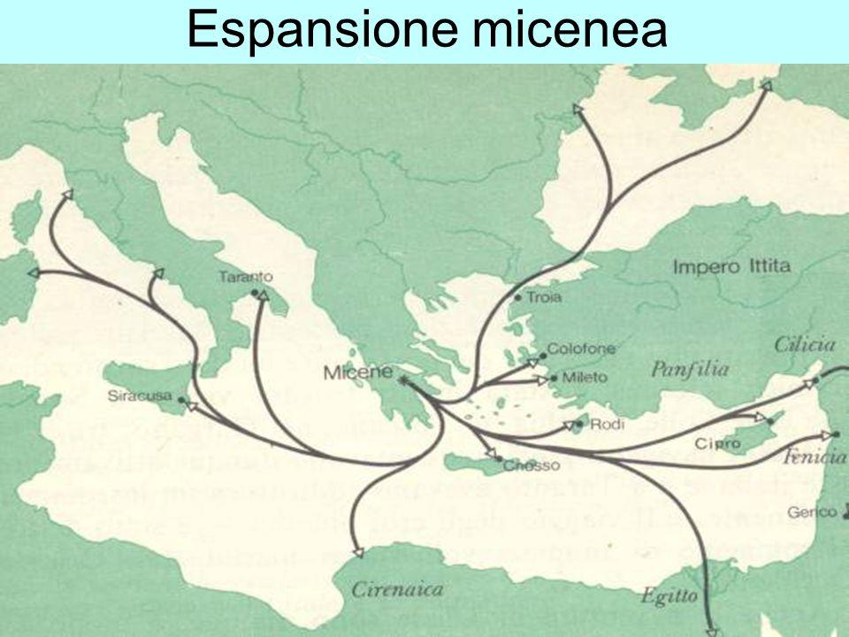 La Grecia Antica – a cura del prof. Marco Migliardi Espansione micenea